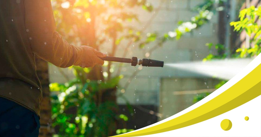 How to use electric pressure washer