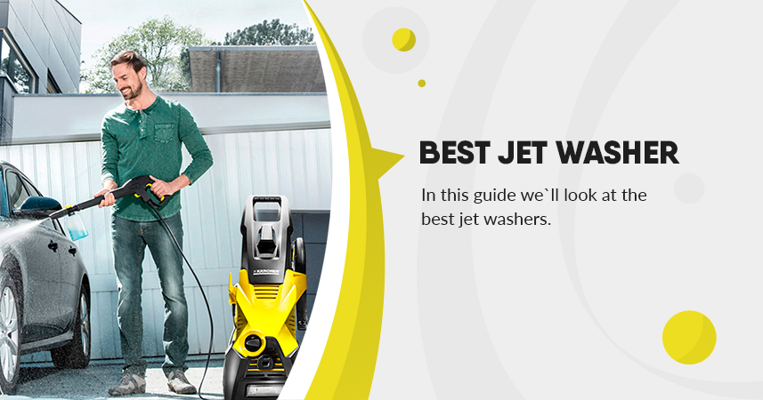 Best Jet Washer for cars, home, patios, driveways, decking