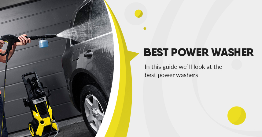 Best Power Washer for Cars, Homes, Patios