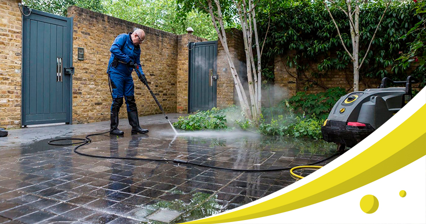A few tips use on pressure washer