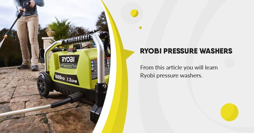 Ryobi Pressure Washer Reviews