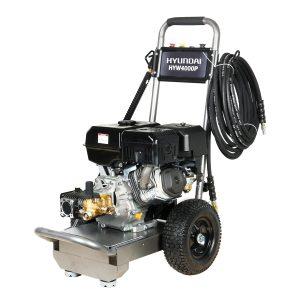 Hyundai HYW4000P Petrol Pressure Washer Portable 420CC 14 HP 4-Stroke Engine 4000 Psi