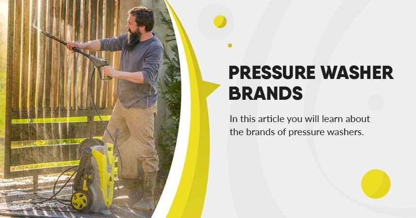 Pressure Washer Brands