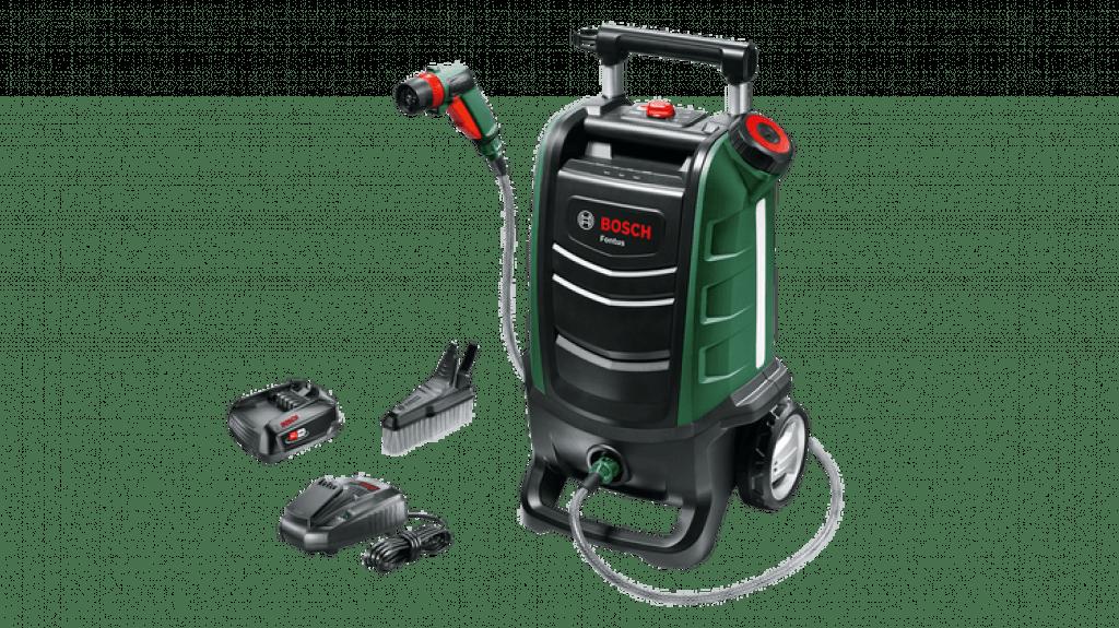 Bosch Fontus 06008B6070 Cordless Outdoor Pressure Washer